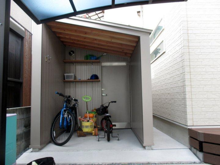 小屋 自転車